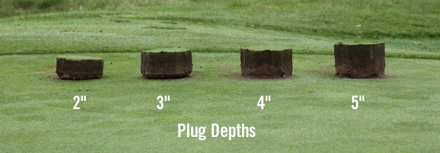 plug depths